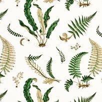 Baker Ferns linen Tyg