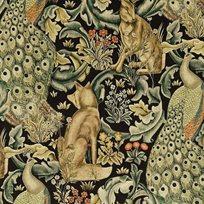 William Morris Forest Velvet Charcoal