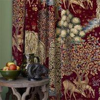William Morris & co The Brook - sammet Tyg