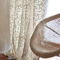 William Morris Pure Arbutus Embroidery