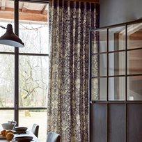 William Morris & co Pure Honeysuckle & Tulip Print Tyg