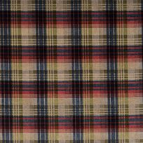 Mulberry Velvet Ancient Tartan, Red Blue Green