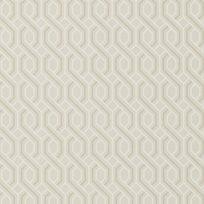 Baker Boxwood Trellis Linen Tapet