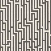 Baker Fretwork Charcoal Tapet