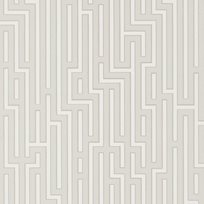 Baker Fretwork Soft Grey Tapet