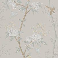 Baker Peony & Blossom Soft Aqua Tapet
