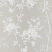 Baker Peony & Blossom Soft grey Tapet