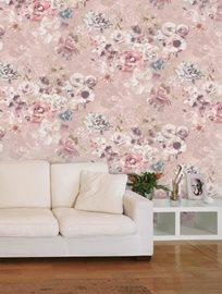 Jane Churchill Marble Rose Pink Tapet