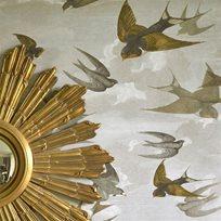 John Derian Chimney Swallows Tapet