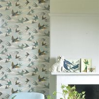 John Derian Chimney Swallows