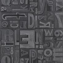 Ralph Lauren Copeley Letterpress Linocut Tapet