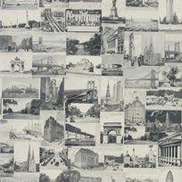 Ralph Lauren New York Postcard Black Tapet