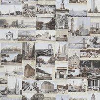 Ralph Lauren New York Postcard Multi Tapet