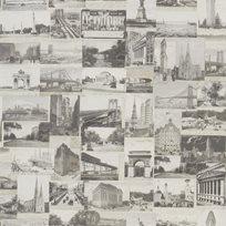 Ralph Lauren New York Postcard Stone Tapet