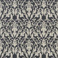 Ralph Lauren Speakeasy Damask Black Tapet