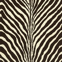 Ralph Lauren Bartlett Zebra Chocolate Tapet