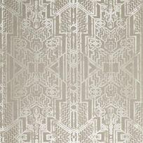 Ralph Lauren Brandt Geometric Pearl Grey Tapet
