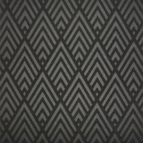 Ralph Lauren Jazz Age Geometric Charcoal Tapet