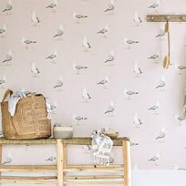 Sanderson Shore Birds Tapet