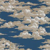 Sanderson Silvi Clouds - Yacht Blue Tapet