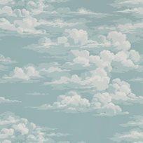 Sanderson Silvi Clouds - Sky Tapet