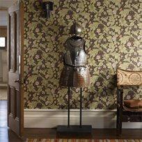 William Morris & co Leicester Tapet