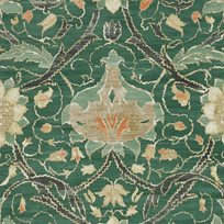 William Morris & co Montreal Forest/Teal Tapet