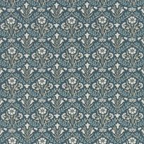 William Morris & co Morris Bellflowers Indigo/Linen