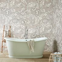 William Morris & co Pure Bachelors Button Faded Sea Tapet