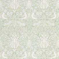 William Morris & co Pure Dove & Rose Grey Blue Tapet
