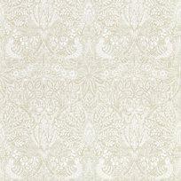William Morris & co Pure Dove & Rose White Clover Tapet