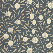 William Morris & co Pure Fruit Black Ink Tapet