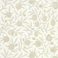 William Morris & co Pure Fruit Horned Poppy / Grey Tapet