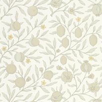 William Morris & co Pure Fruit Horned Poppy / Grey