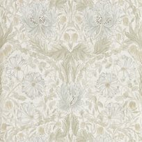 William Morris & co Pure Honeysuckle & Tulip Linen