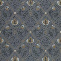 William Morris & co Pure Trellis Black Ink Tapet