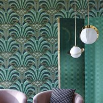Zoffany Conway Poison Tapet
