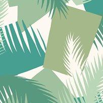 Cole & Son Deco Palm Tapet