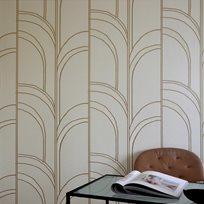 Mimou Arches White Tapet
