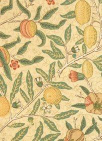 William Morris & co Fruit Minor Tyg