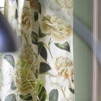 John Derian Camellia Folly Parchment Tyg