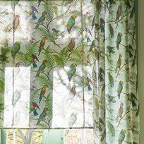 John Derian Parrot Aviary Sky Blue Tyg