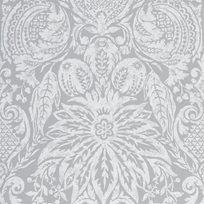 Zoffany Mitford Damask Empire Grey