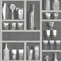 Fornasetti Cocktails Tapet
