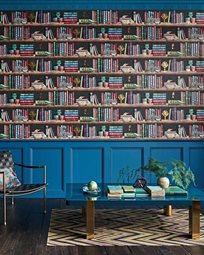 Fornasetti Libreria Tapet