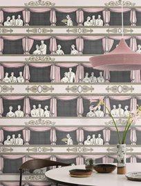 Fornasetti Teatro Ballet slipper Tapet