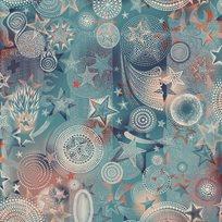 Jean Paul Gaultier Étoiles Bleus Tapet