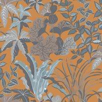 Au fil des Couleurs Magic Garden Orange Tapet