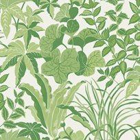 Au fil des Couleurs Magic Garden Pale Green Tapet