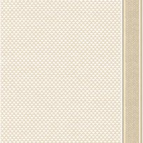 Au fil des Couleurs Puck Stripe Pale Linen & White